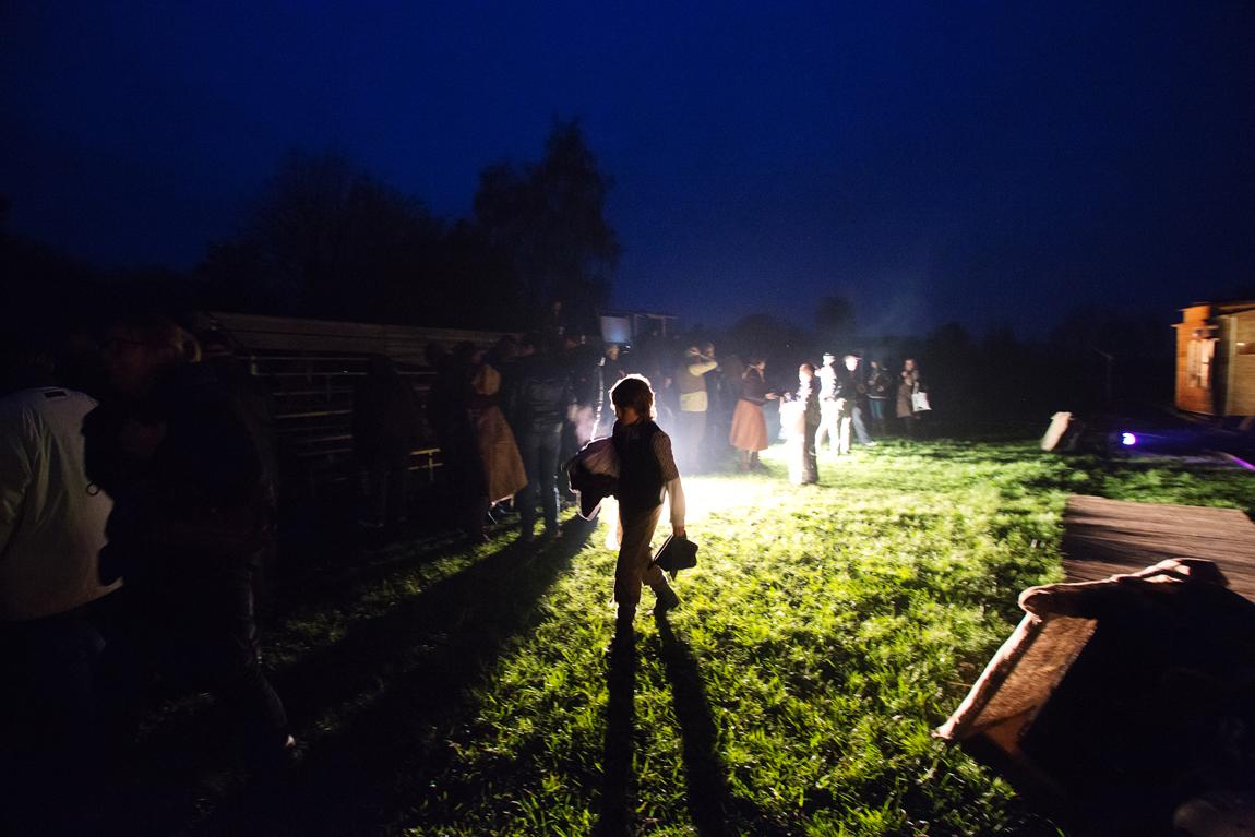 PeerGrouP speelt Once upon a time in het Veen (foto Gwen Mustamu)